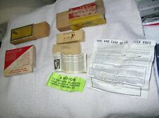 Vintage Empty Winchester Smith & Wesson Crosman Ammunition Boxes Buck Knife Box