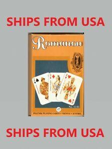 """Romanow Dynasty 55 Playing Cards Piatnik - Игральные карты """"Династия Романовых"""""""