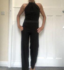 Black Catsuit Size 8