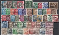 X4559/ GERMANY REICH – 1933 / 1938 USED SEMI MODERN LOT – CV 185 $