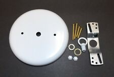 "5 1/4"" WHITE FINISH CEILING CANOPY KIT FOR LIGHT FIXTURES LAMP PART NEW 11879WJB"