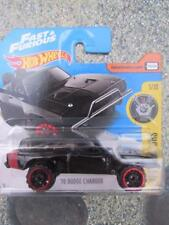 Hot Wheels 2017 # 004/365 1970 Dodge Charger Negro experimotors Fast & Furious