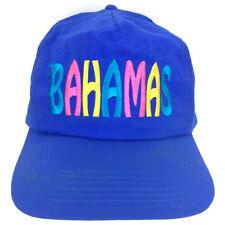 Bahamas Hat Block Spell Out Cap Script Logo Snap Back Beach Baseball Trucker