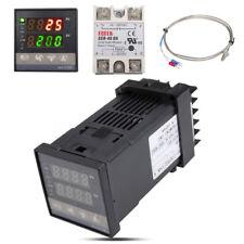 New 0℃~1300℃ AC 110V-240V Alarm REX-C100 Digital PID Temperature Controller Kits