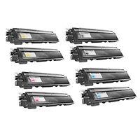 8PK BLACK COLOR for Brother TN-210 TN210 Toner Cartridge HL-3040 HL-3070 DCP9010