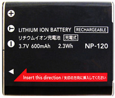 for Casio NP-120 Rechargeable Battery for the Casio Digital Camera
