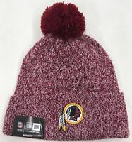 New Era Knit Beanie/Skully Washington Redskins NFL Nice Rare New One Of One