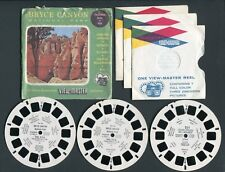 Sawyer's View-Master Packet BRYCE CANYON NP Utah Vacationland Series Style S3