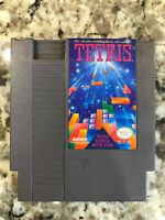 Tetris Nintendo Nes Cleaned & Tested Authentic