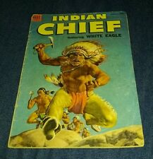 Indian Chief #14 1954 Dell White Eagle Attack vg western native american movie