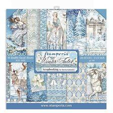 Winter Tales Stamperia  12 x 12 Paper Set