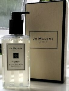 JO MALONE BLACKBERRY & BAY BODY & HAND WASH - 250ML- BOXED - GIFT BAG