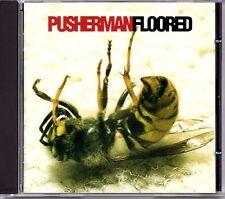 PUSHERMAN - FLOORED - CD ALBUM - NEAR MINT