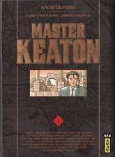 MASTER KEATON tome 1 Naoki Urasawa manga seinen en français *