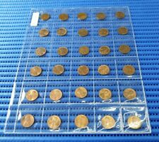 59 Years of United States Lincoln Penny 1 Cent Coin ( 1960 to 2018 )  59 Pieces