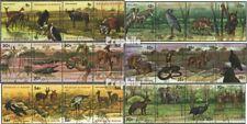 Burundi 1355-1378 quad strip (complete issue) used 1977 Wildlif