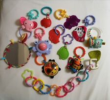 Fisher Price Baby Gym Toys Accessories Attachments Mirror And Teething Links