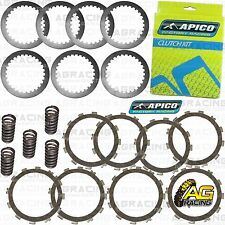 Apico Clutch Kit Steel Friction Plates & Springs For Suzuki RM 125 2005 MotoX