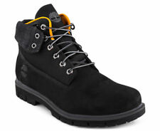 TIMBERLAND MENS RADFORD 6-INCH ROLL TOP BOOT  BLACK - SIZE US MENS 7