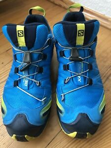 Salomon XA Pro 3D Herren Schuhe Blau / Größe 46 2,3