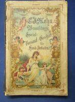 C.J. Mehn Braunschweig Special-Versand f. Handarbeit um 1900 sehr selten js