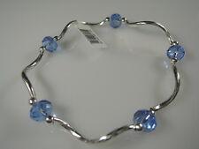 Armband Dezember - hell blau - 18cm