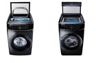 Samsung Black Stainless Washer and Gas Dryer WV60M9900AV DVG60M9900V  photo