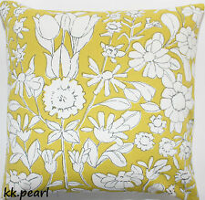 Double Sided Conservatory Cushion Cover DAISY CHAIN JOHN LEWIS Fabric 18""