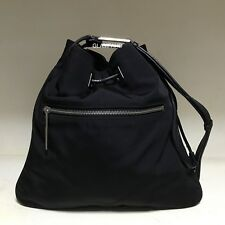 Pre Owned Vintage Authentic Gucci Nylon Drawstring Shoulder Bag