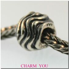 AUTHENTIC TROLLBEADS 11401 WAVES STERLING SILVER