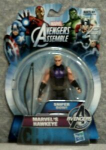 MARVEL'S HAWKEYE ACTION FIGURE - MARVEL AVENGERS ASSEMBLE SERIES - 3-3/4""