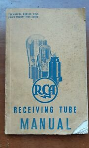 RCA Receiving Tube Manual Technical Series RC-13 1937