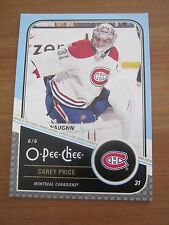 2011 12 OPC O Pee Chee #279 Carey Price - Montreal Canadiens