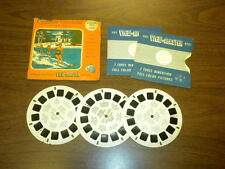 CYPRESS GARDENS FLORIDA (164ABC) Viewmaster 3 reels PACKET SET