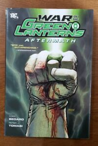 War of the Green Lanterns: Aftermath 2012 HC Hardcover GN OOP Bedard, Tomasi