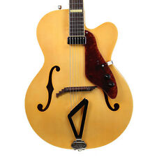Gretsch G100CE Synchromatic Natural Arch Top Archtop Jazz Guitar G100 Demo Model