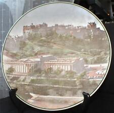 Vintage Royal Doulton English Translucent China Edinburgh Castle Plate Tc 1092