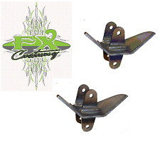 """Side Frame Parallel 4 Link Bar Mount Pair 3"""" WIDE, Free Shipping"""