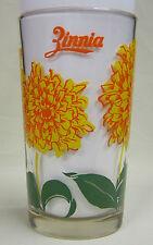 Zinnia Peanut Butter Glass Glasses Drinking Kitchen Mauzy 32-3