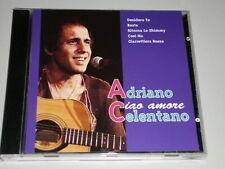 ADRIANO CELENTANO CIAO AMORE CD BASTA /  COSI NO / EHI STELLA / CIAO AMORE (YZ)