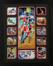 Chad Reed Limited Edition Framed Signed Memorabilia (B)