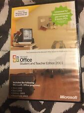 Microsoft Office 2003 Student and Teacher Edition with product Key