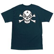 Santa Cruz Eric Dressen CROSSBONES Skateboard T Shirt HARBOR BLUE XL