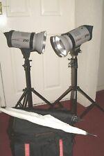 Elinchrom Prolinca 250 studio flash kit