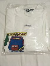 Illegal Civilization White Turtle Neck XL Long Sleeve New IC RARE
