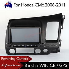 8 inch Car DVD GPS Stereo Player Head Unit For Honda Civic AUS RHD 2006-2011