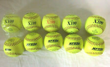 MacGregor Asa Nfhs Mark-1 Slow Pitch Composite Softball, 12-inch Lot of 10