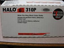 "Halo Lighting 6"" 310P Recessed Light Fixture #11924219 New in Box Free Shipping!"