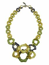 Curly Pod 24k Tri-Color Contour Necklace by Michael Michaud #8970BZGMG