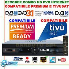 DECODER COMBO HD PER MEDIASET PREMIUM, TivùSat E ZDF EVO 3.1 REGISTRA SU USB